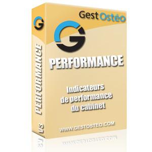 Solution logiciel GestOstéo PERFORMANCE gestion chiffre affaire cabinet aide décision ostéopathe