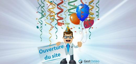 GestOstéo ouvre ses portes et vous invite à découvrir tous ses services qui vont vous simplifieront votre gestion de cabinet d'ostéopathie
